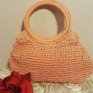 Macrame Bag Pink